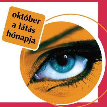 Október a Látás Hónapja